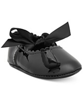 9061b5328a51 First Impressions Baby Girls Patent Ballet Flats