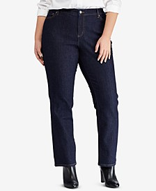Plus Size Premier Straight Jeans
