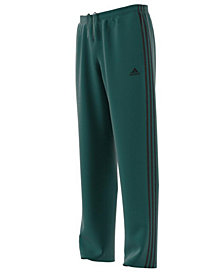 adidas Men's Tapered Three-Stripe Pants