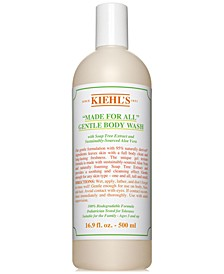 """Made For All"" Gentle Body Wash, 16.9 fl. oz."