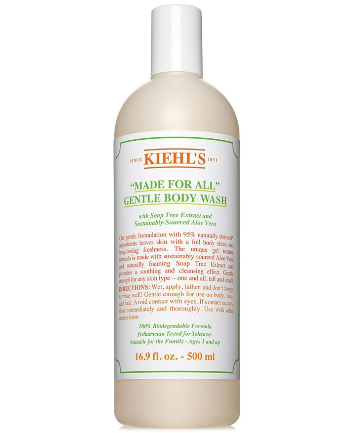 """Kiehl's Since 1851 - """"Made For All"""" Gentle Body Wash, 16.9 fl. oz."""