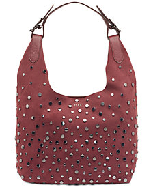 DKNY Wes Stud Hobo, Created for Macy's