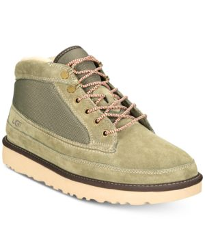 Men'S Highland Field Water-Resistant Boots Men'S Shoes, Moss Green
