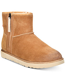 UGG® Men's Classic Waterproof Mini Zip Boots