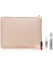 Receive a FREE Trial-Size 4-Pc. gift & Cosmetic Bag with any $50 purchase