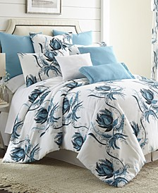 Seascape Comforter Set-King