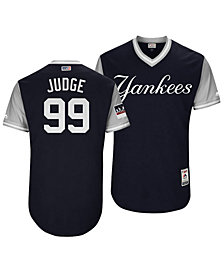 Majestic Men's Aaron Judge New York Yankees Players Weekend Authentic Jersey