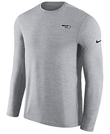 Nike Men's Seattle Seahawks Coaches Long Sleeve Top