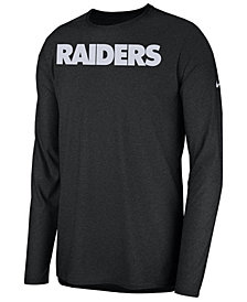 Nike Men's Oakland Raiders Player Long Sleeve Top