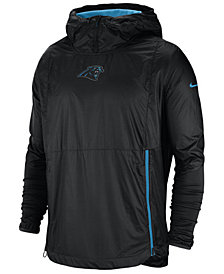 Nike Men's Carolina Panthers Lightweight Alpha Fly Rush Jacket