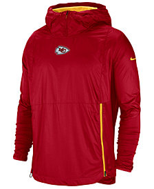 Nike Men's Kansas City Chiefs Lightweight Alpha Fly Rush Jacket
