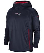 Nike Men s New England Patriots Lightweight Alpha Fly Rush Jacket 3986447a8
