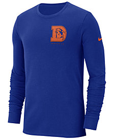 Nike Men's Denver Broncos Heavyweight Seal Long Sleeve T-Shirt