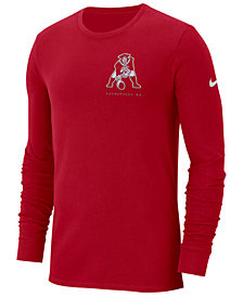 Nike Men's New England Patriots Heavyweight Seal Long Sleeve T-Shirt
