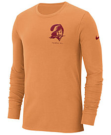 Nike Men's Tampa Bay Buccaneers Heavyweight Seal Long Sleeve T-Shirt