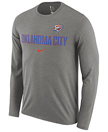 Nike Men's Oklahoma City Thunder Essential Facility Long Sleeve T-Shirt