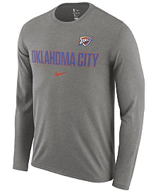 Nike Men's Oklahoma City Thunder Essential Facility Long Sleeve T-Shirt
