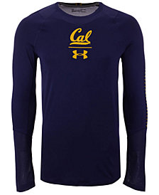 Under Armour Men's California Golden Bears Long Sleeve Raid Training T-Shirt