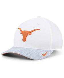 Nike Texas Longhorns Arobill Swoosh Flex Stretch Fitted Cap
