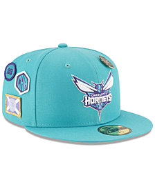 New Era Charlotte Hornets On-Court Collection 59FIFTY FITTED Cap
