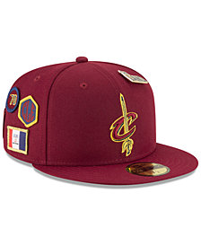 New Era Cleveland Cavaliers On-Court Collection 59FIFTY FITTED Cap