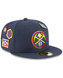 New Era Denver Nuggets On-Court Collection 59FIFTY FITTED Cap