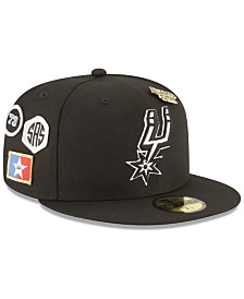 New Era San Antonio Spurs On-Court Collection 59FIFTY FITTED Cap