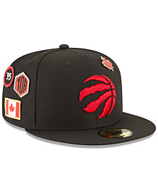 New Era Toronto Raptors On-Court Collection 59FIFTY FITTED Cap