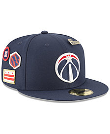 New Era Washington Wizards On-Court Collection 59FIFTY FITTED Cap