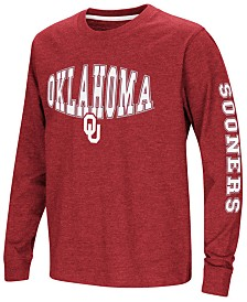 Colosseum Oklahoma Sooners Spike Long Sleeve T-Shirt, Big Boys (8-20)