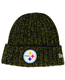 New Era Women's Pittsburgh Steelers On Field Knit Hat
