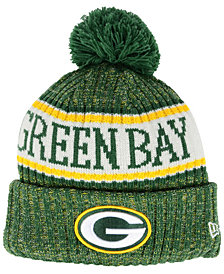 New Era Boys' Green Bay Packers Sport Knit Hat