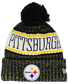 New Era Boys' Pittsburgh Steelers Sport Knit Hat
