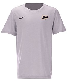 Purdue Boilermakers Dri-FIT Coaches T-Shirt, Big Boys (8-20)