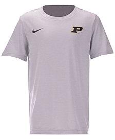 Nike Purdue Boilermakers Dri-FIT Coaches T-Shirt, Big Boys (8-20)
