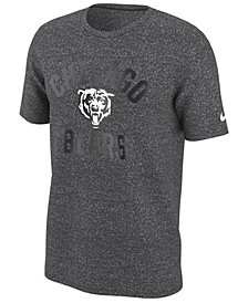 Nike Men's Chicago Bears Marled Gym Arch T-Shirt