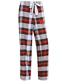 Women's Cleveland Browns Headway Flannel Pajama Pants