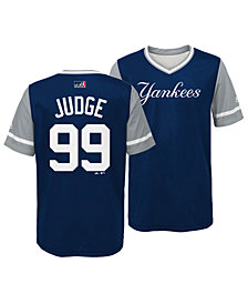 Majestic Aaron Judge New York Yankees Players Weekend Jersey, Big Boys (8-20)