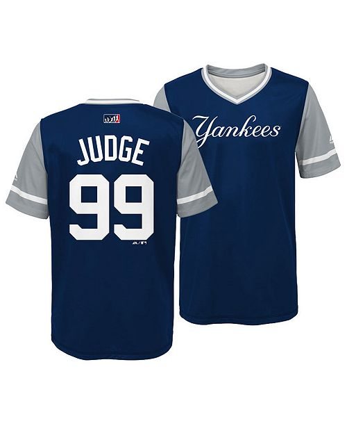 the latest 14c45 e76fe Majestic Aaron Judge New York Yankees Players Weekend Jersey ...