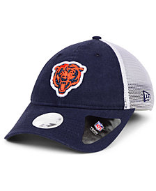 New Era Women's Chicago Bears Trucker Shine 9TWENTY Cap
