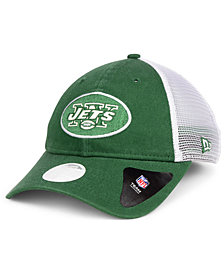New Era Women's New York Jets Trucker Shine 9TWENTY Cap