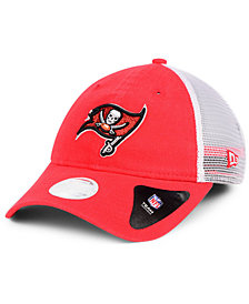 New Era Women's Tampa Bay Buccaneers Trucker Shine 9TWENTY Cap