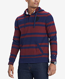 Tommy Hilfiger Men's Leonard Pull-Over Rugby Shirt, Created for Macy's