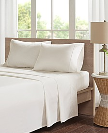 Peached Percale 4-PC Queen Cotton Sheet Set
