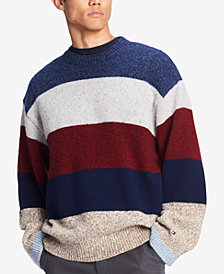 Tommy Hilfiger Men's Stanton Stripe Sweater, Created for Macy's