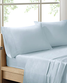 Sleep Philosophy 300 Thread Count Liquid Cotton 4-PC King Sheet Set