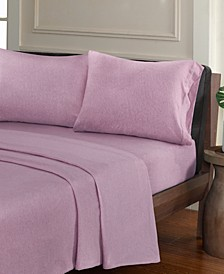 Urban Habitat Heathered 4-PC Full Cotton Jersey Knit Sheet Set