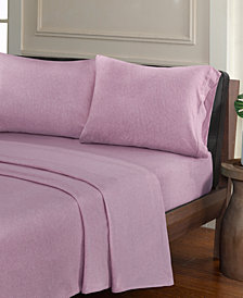Urban Habitat Heathered 3-PC Twin XL Cotton Jersey Knit Sheet Set