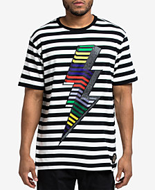 Hudson NYC Men's Striped Volt T-Shirt