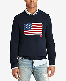 Polo Ralph Lauren Men's Graphic Cotton Sweater
